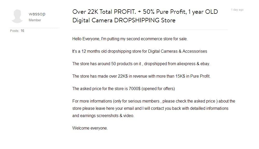 Marketing sklepu internetowego skupionego z rynku